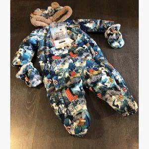 Baby snowsuit / habit d'hiver pour bebe